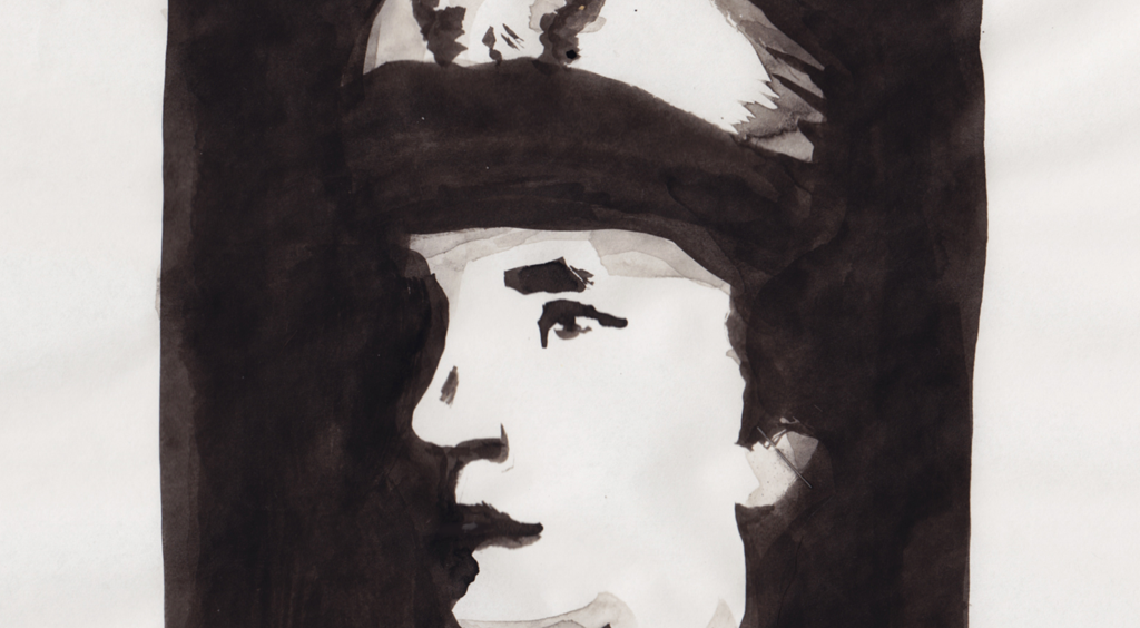 Aquarellportrait: »Portrait Grace Hopper